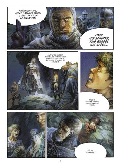 Page 3 crusades tome 1 - le spectre aux yeux d'argent