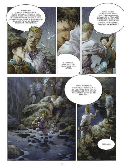 Page 4 crusades tome 1 - le spectre aux yeux d'argent