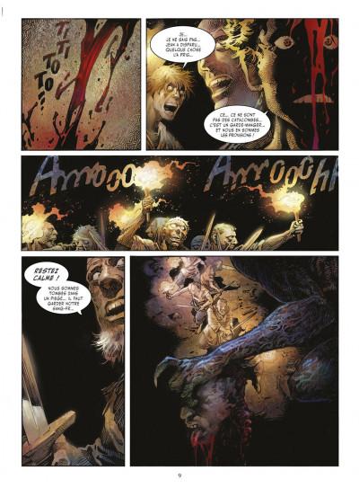Page 8 crusades tome 1 - le spectre aux yeux d'argent