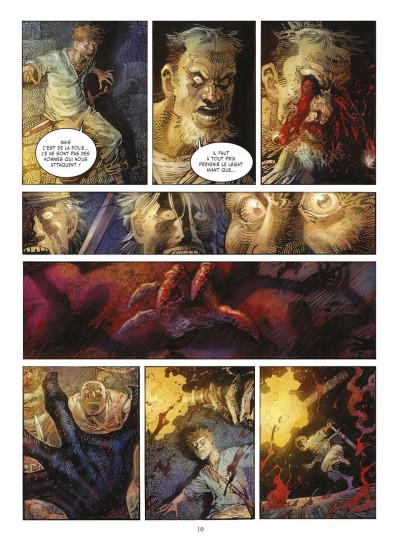 Page 9 crusades tome 1 - le spectre aux yeux d'argent