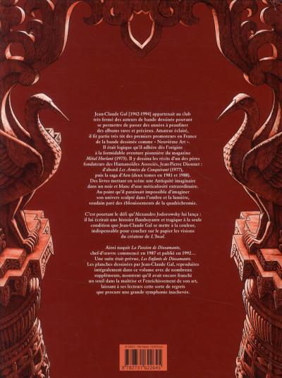 Dos diosamante ; la passion de diosamante ; intégrale