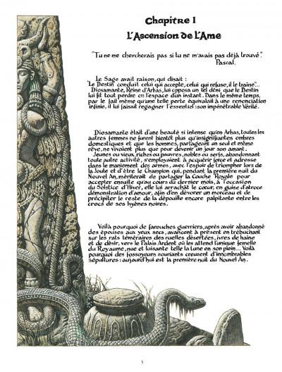 Page 5 diosamante ; la passion de diosamante ; intégrale