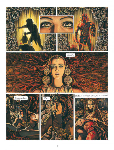 Page 8 diosamante ; la passion de diosamante ; intégrale