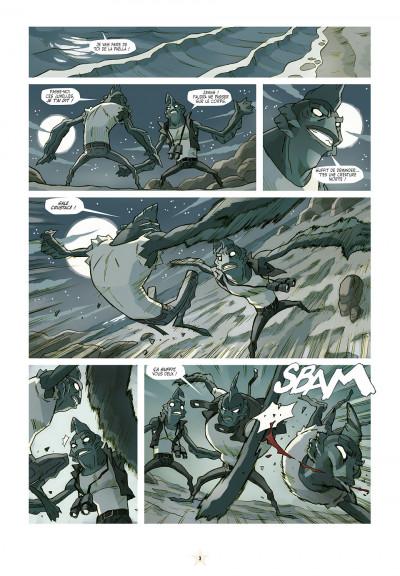 Page 3 luchadores five tome 3 - Les Créatures du lac de cuir noir