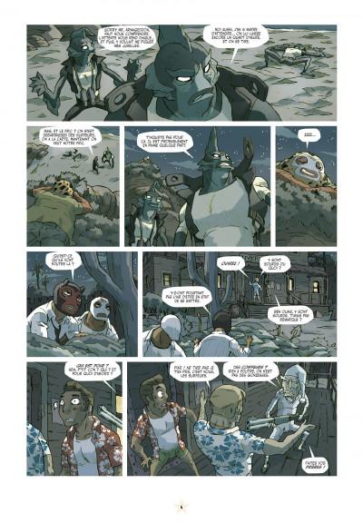 Page 4 luchadores five tome 3 - Les Créatures du lac de cuir noir