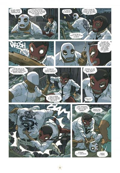 Page 5 luchadores five tome 3 - Les Créatures du lac de cuir noir