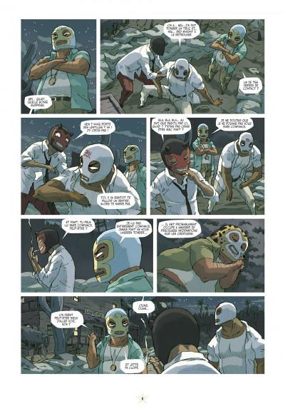 Page 6 luchadores five tome 3 - Les Créatures du lac de cuir noir