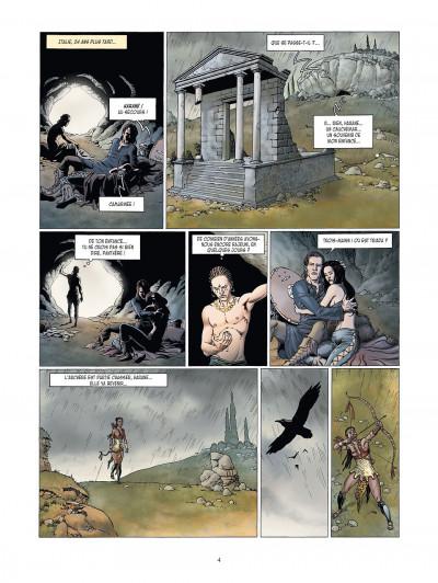Page 4 la meute de l'enfer tome 4 - la tanière du mal