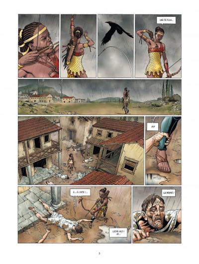 Page 5 la meute de l'enfer tome 4 - la tanière du mal
