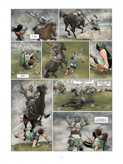Page 7 la meute de l'enfer tome 4 - la tanière du mal