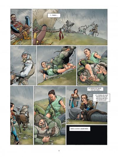 Page 9 la meute de l'enfer tome 4 - la tanière du mal