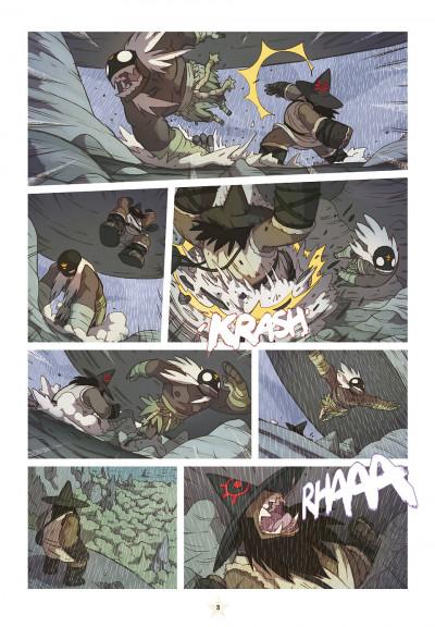 Page 3 les tikitis tome 3 - l'homme aux mille tours