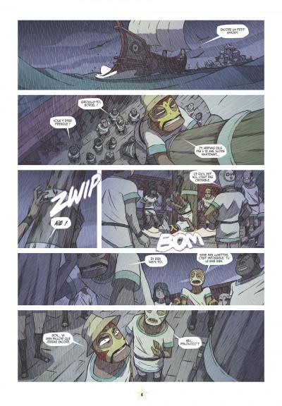 Page 4 les tikitis tome 3 - l'homme aux mille tours