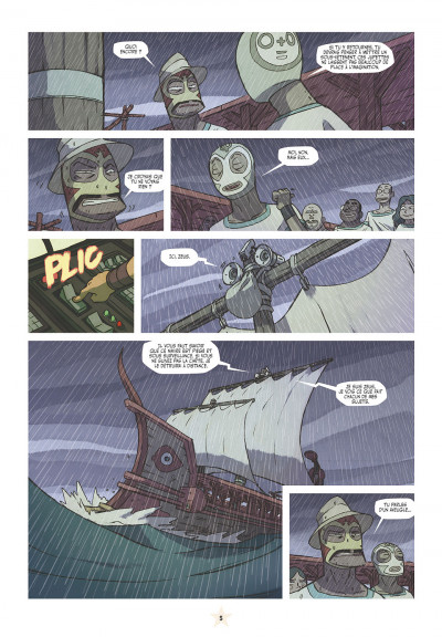Page 5 les tikitis tome 3 - l'homme aux mille tours