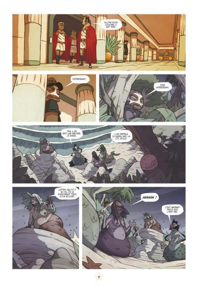 Page 7 les tikitis tome 3 - l'homme aux mille tours