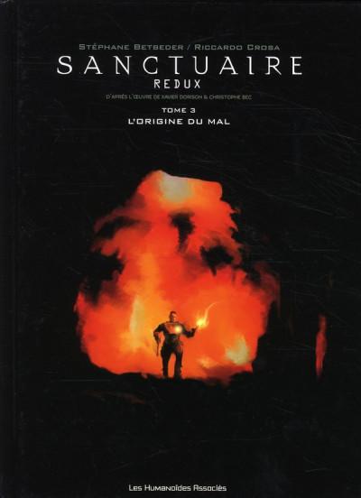 image de sanctuaire redux tome 3 - L'origine du mal