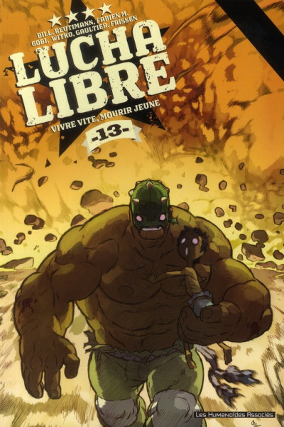 Couverture lucha libre tome 13 - anthologie