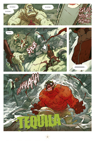 Page 3 lucha libre tome 13 - anthologie