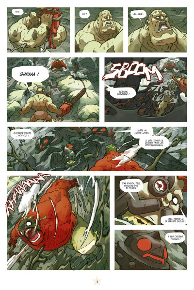 Page 4 lucha libre tome 13 - anthologie