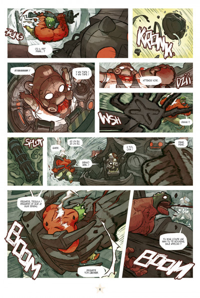 Page 6 lucha libre tome 13 - anthologie