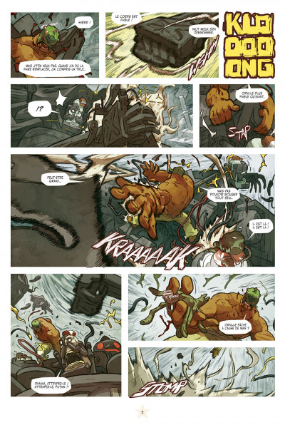 Page 7 lucha libre tome 13 - anthologie