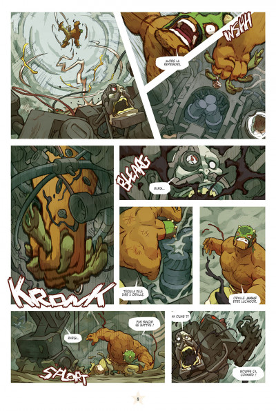 Page 8 lucha libre tome 13 - anthologie