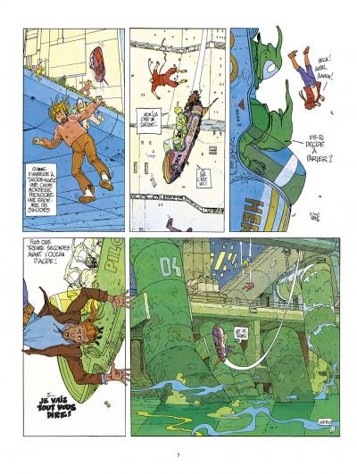 Page 7 l'incal ; intégrale en couleurs originales