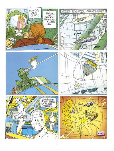 Page 8 l'incal ; intégrale en couleurs originales