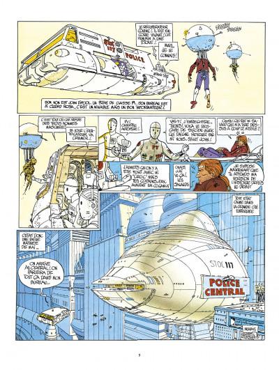 Page 9 l'incal ; intégrale en couleurs originales