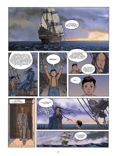 Page 0 le jour des magiciens ; intégrale