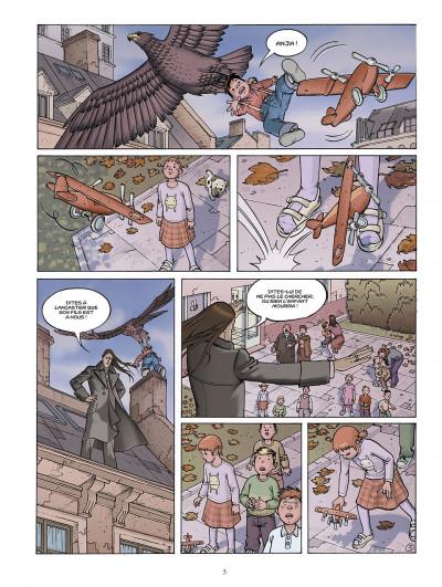 Page 5 le jour des magiciens ; intégrale