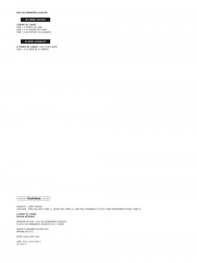 Page 2 l'enfant de l'orage - intégrale tome 1 à tome 3