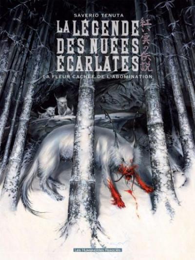 Couverture la légende des nuées écarlates tome 4 - la fleur cachée de l'abomination