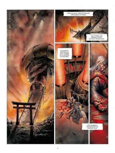 Page 3 la légende des nuées écarlates tome 4 - la fleur cachée de l'abomination