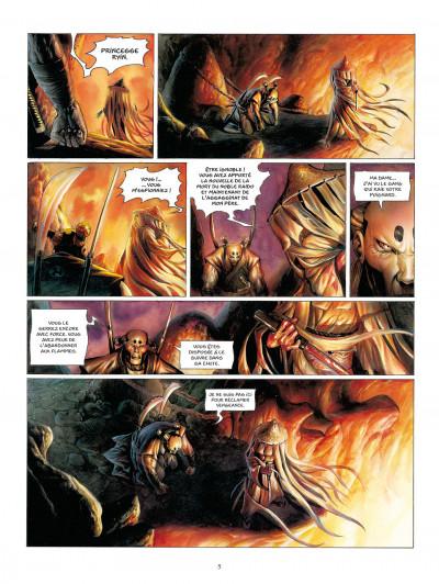 Page 5 la légende des nuées écarlates tome 4 - la fleur cachée de l'abomination