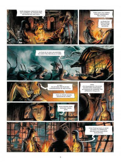 Page 9 la légende des nuées écarlates tome 4 - la fleur cachée de l'abomination