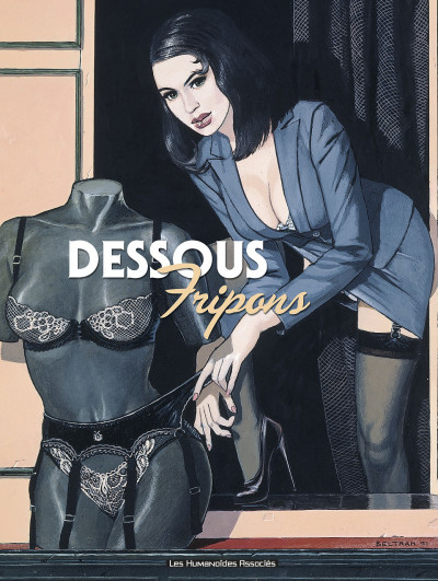 Couverture Fripons tome 1 - dessous fripons