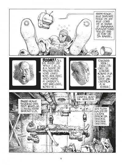 Page 3 moebius intégrale les années métal hurlant