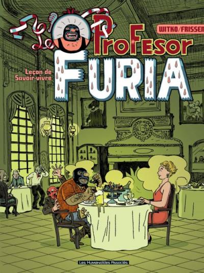Couverture le profesor Furia tome 1 - leçon de savoir-vivre