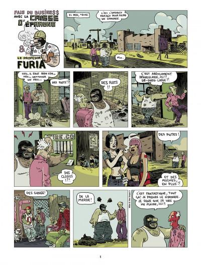 Page 1 le profesor Furia tome 1 - leçon de savoir-vivre