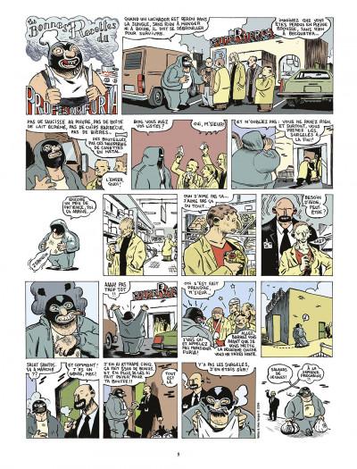 Page 5 le profesor Furia tome 1 - leçon de savoir-vivre