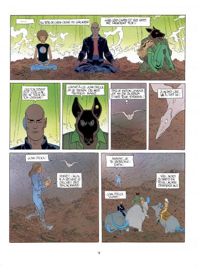 Page 0 L'Incal - une aventure de John Difool tome 3 - ce qui est en bas