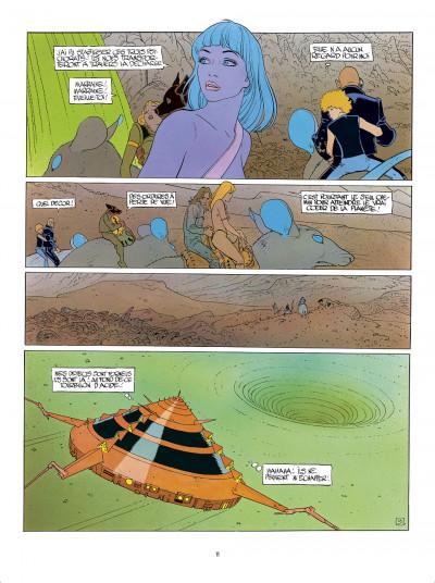 Page 1 L'Incal - une aventure de John Difool tome 3 - ce qui est en bas