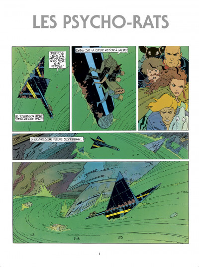 Page 3 L'Incal - une aventure de John Difool tome 3 - ce qui est en bas