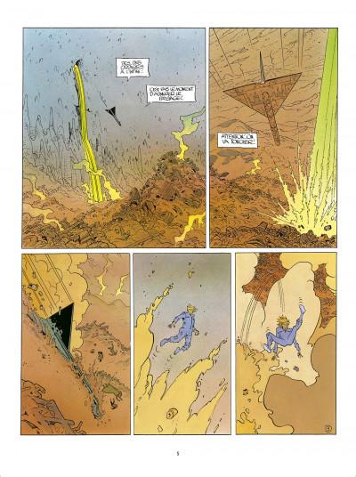 Page 5 L'Incal - une aventure de John Difool tome 3 - ce qui est en bas