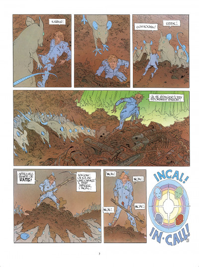 Page 7 L'Incal - une aventure de John Difool tome 3 - ce qui est en bas