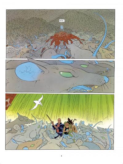 Page 8 L'Incal - une aventure de John Difool tome 3 - ce qui est en bas