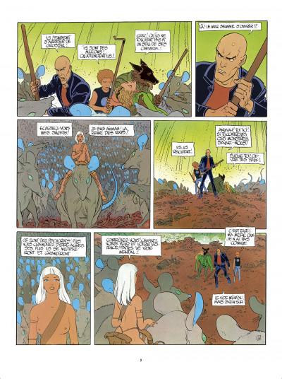 Page 9 L'Incal - une aventure de John Difool tome 3 - ce qui est en bas