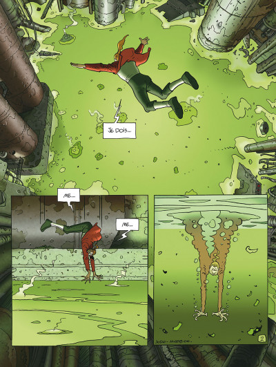Page 2 après l'incal tome 1 - le nouveau rêve édition 2011