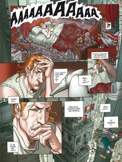 Page 3 après l'incal tome 1 - le nouveau rêve édition 2011